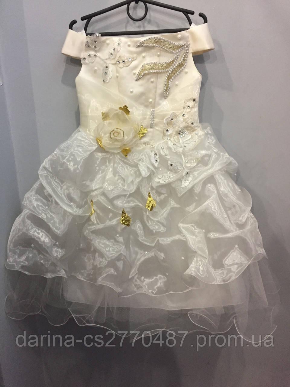 Детское бальное платье 5/6 л