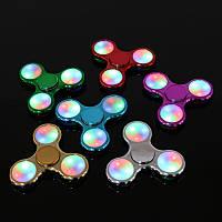 Спинер LED-Spinner Металлический светящийся