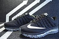 Мужские кроссовки Nike AirMax K-173 Чёрные