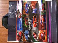Пакет с петлевой ручкой Машины 38*43 см