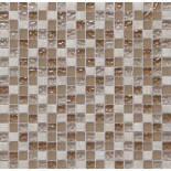 Мозаика мрамор стекло СS06 1,5*1,5