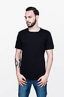 Черная фирменная мужская футболка урбан пленет