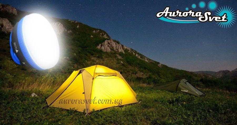 Фонарь для палатки/кемпинга светодиодный AuroraSvet A05. LED фонарь. Светодиодный фонарь.