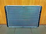 Радиатор охлаждения алюминиевый Газель, Соболь (на штырях), фото 2