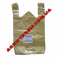 Пакет майка 30х50 см