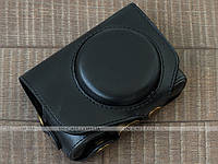 Кожаный чехол для фотоаппарата Canon PowerShot G7 X Mark II Black