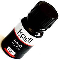 Базовый гель Kodi UV Gel Base gel 10ml для наращивания ногтей