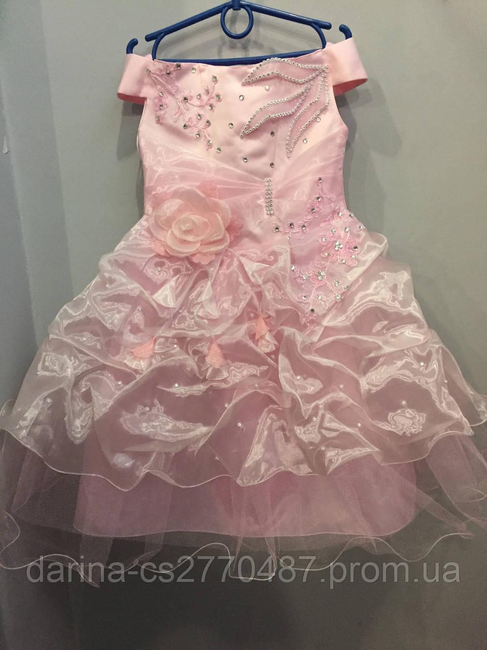 Детское праздничное платье 5/6 л