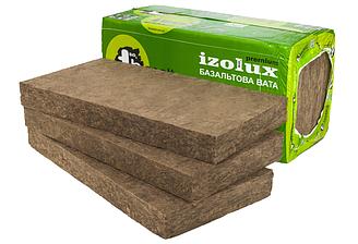 Минеральная базальтовая вата Technology Basalt Izolux Premium П75-30 50 мм (1 x 0,5 м) 4 м. кв