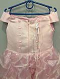 Детское праздничное платье 5/6 л, фото 4