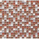 Мозаика мрамор стекло СS08 1,5*1,5