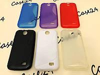 Силиконовый чехол Duotone для HTC Desire 310 (6 цветов)
