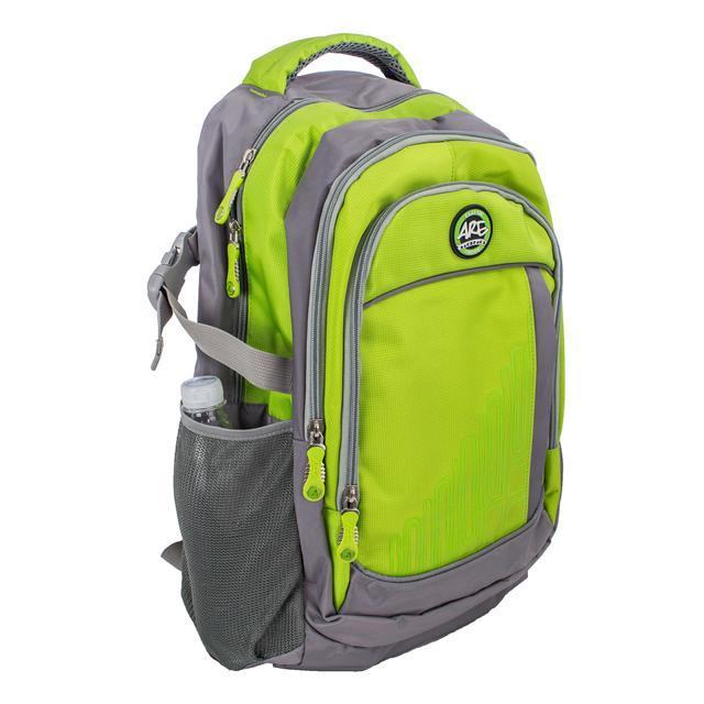 Салатовый ортопедический рюкзак для детей и взрослых titanum ARE