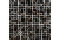Мозаика мрамор стекло DAF17  1.5*1.5