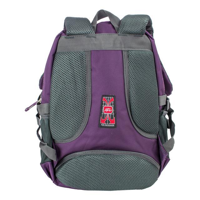 Фиолетовый ортопедический рюкзак для детей и взрослых titanum ARE