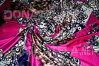 Натуральный шелк натуральний шовк шелк дюпон Розовый