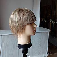 Женская накладка из натуральных волос для макушки