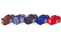 Сумка спортивная (сумка бочонок) Converse 4975 с отделением для обуви, 3 цвета: 44х21х24см