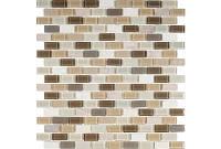 Мозаика мрамор стекло DAF101  3*1.5