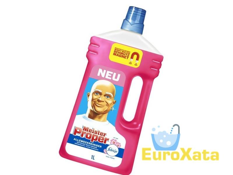 Универсальное чистящее средство Meister Proper Allzweckreiniger Fleur Naissante (1л)