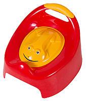 Горшок Tega Жабка С Крышкой AG-004 FROG красные (с желтой крышкой)