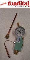 """Комплект """"термостат+термометр"""" для внешнего бойлера Fondital, фото 1"""