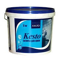 Фуга Kiilto № 41, 3 кг (средне-серый) затирка