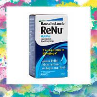 Увлажняющие и смазывающие капли Renu MultiPlus 8 мл