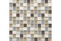 Мозаика мрамор стекло DAF11  2*2