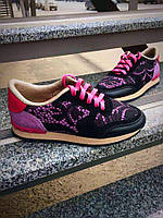 Женские Кожаные кроссовки Valentino (разные цвета)