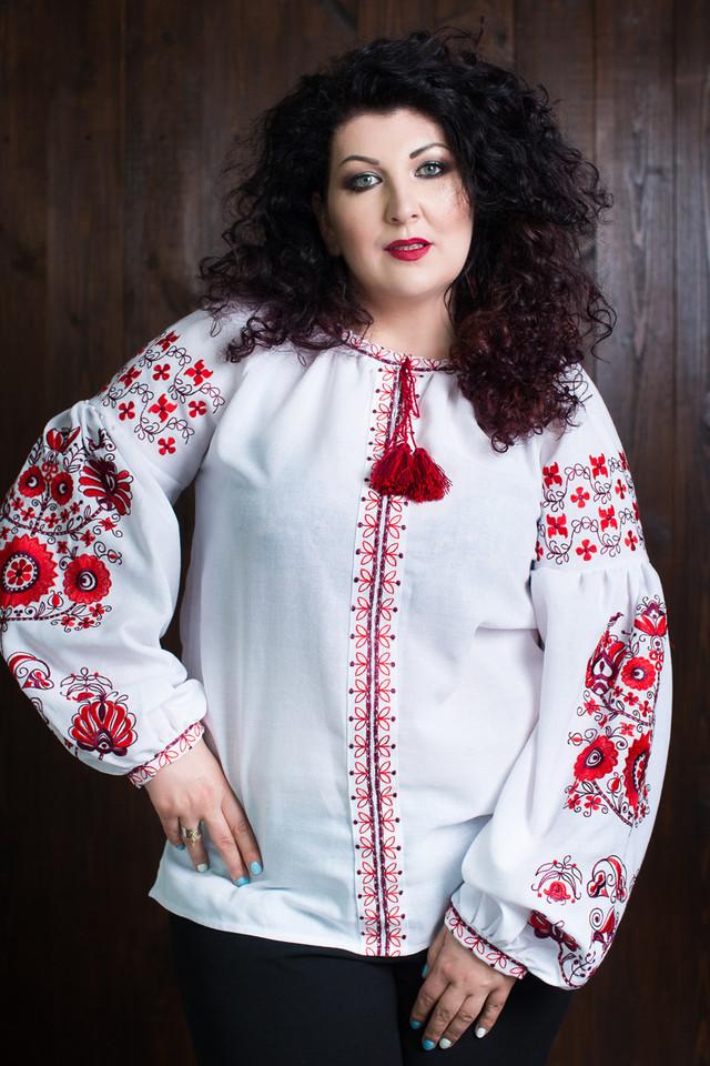 """Женская вышиванка в стиле """"Бохо"""" с длинными рукавами"""