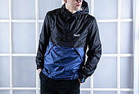 Анорак куртка мужская на весну Pobedov Honor Anorak Navy - Black