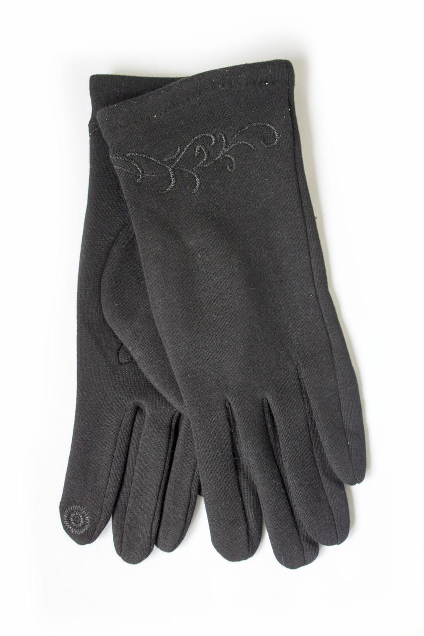 Женские стрейчевые перчатки  -