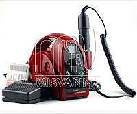 Профессиональный фрезер Lilly BEAUTE EN6500 на 65 Вт и 35000 об./мин. (красный)