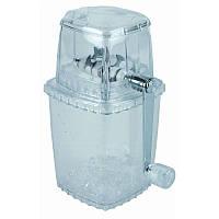 Измельчитель для льда (прозрачный пластик) 10х10см, Н24см, фрезы из нерж. APS 36017