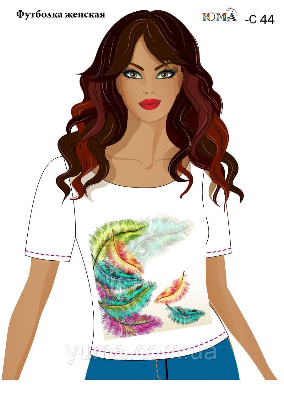 """Женская футболка c рисунком """"Воздушный полёт''"""