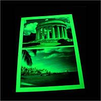 Люминесцентная фотобумага для печати светящихся фотографий А3 формата