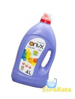 Гель для стирки Onyx Color (4 л)  для цветных каней