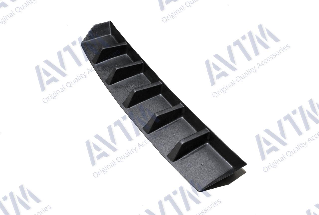 Диффузор заднего бампера Skoda Octavia A7 (2013-)