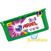 Капсулы для стирки Ariel 3in1 Pods Colour & Style (30шт) для цветного белья (Германия)