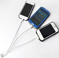USB-charger, зарядка универсальная, 3в1. Android, iPhone, iPad