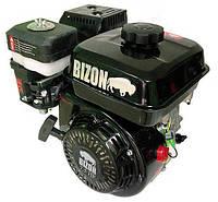 Двигатель бензиновый Bizon 170F (6,5 л.с., шлицы Ø25мм, L=36,5мм)