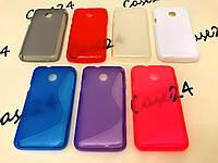 Силиконовый чехол Duotone для Huawei Ascend Y330 (7 цветов)