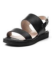 Комфортные женские кожаные сандалии