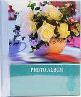 Фотоальбом 21х27 SP-20 20магнит.листов спираль Цветы 5видов 24шт/ящ