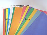Цветная бумага+ цветной картон, А4,  7+7, фото 2