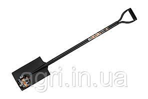 Лопата цельнометаллическая штыковая прямая - Кузбасс 120см
