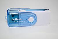USB картрідер (card reader) для ПК 4 в 1, фото 1