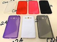 Силиконовый чехол Duotone для Huawei Ascend Y530-U00 (7 цветов)