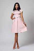 Оригинальное женское платье с красивой юбкой